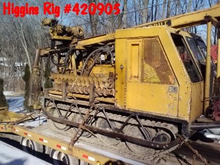 Barrenadora 420905 mobile b53 de 1989 higgins rig for Hydraulic auger motor for sale