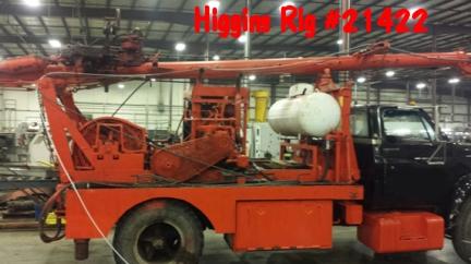Pulling Unit 21422 Wilson Senior Higgins Rig Company