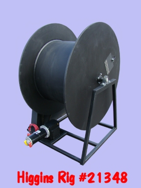 Poly Pipe Reel #21348 - 1,200 Lb  Pulling Capacity @ 45 Ft
